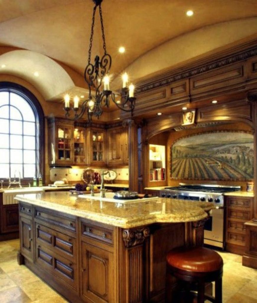 ceiltrim-ornate-wood-and-marble-kitchen-with-groin-vault-ceiling-111717.jpb