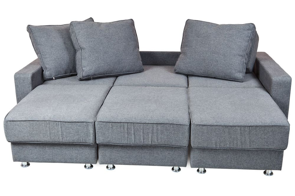 Photo Of A Convertible Sofa