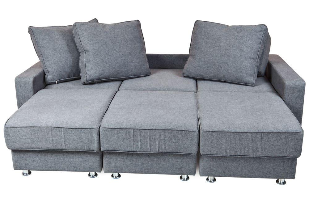 Photo of a convertible sofa