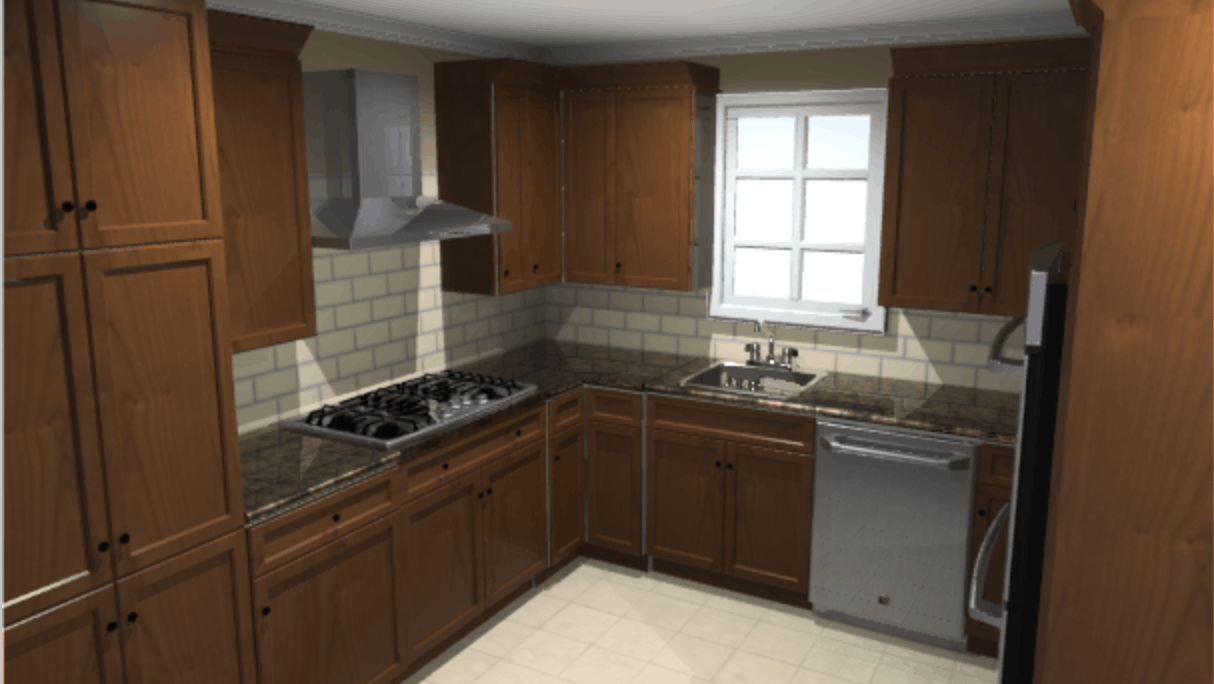 Dark Kitchen Design With Lowes Virtual Kitchen Design Software