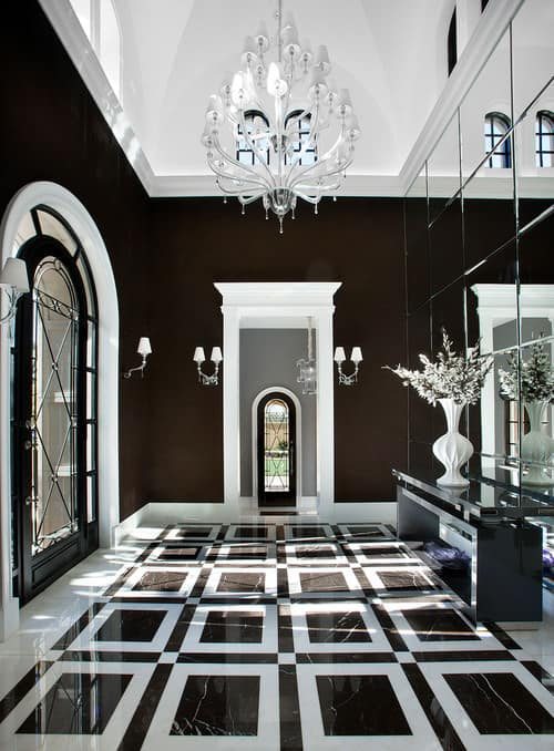 30 Black Foyer Ideas For 2019