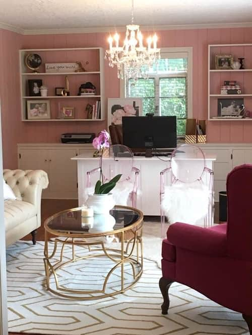 pink home office. Undefined Pink Home Office R