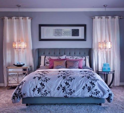 20 Purple Master Bedroom Ideas for 2019