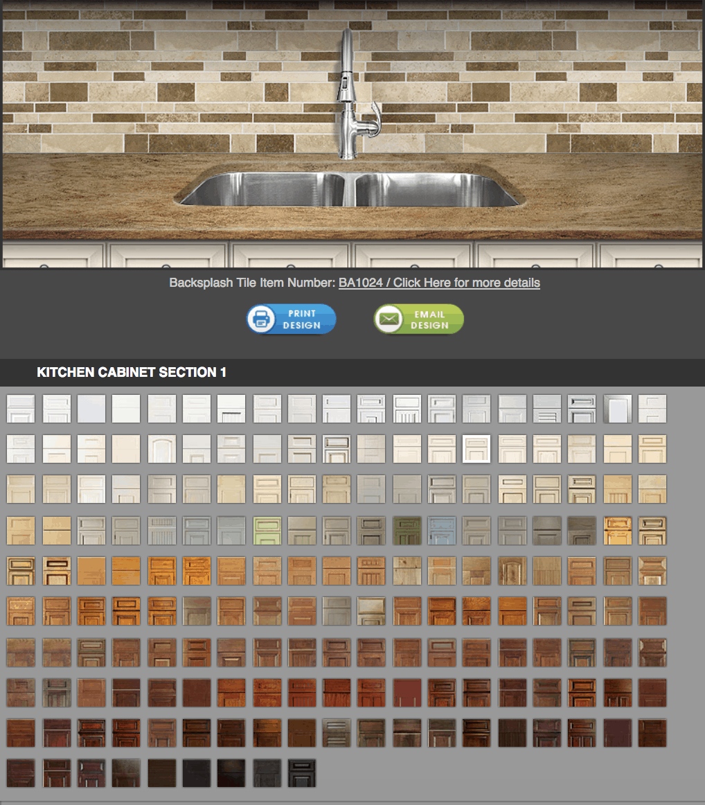 Screen Shot Of Kitchen Backsplash Design Software. Part 89