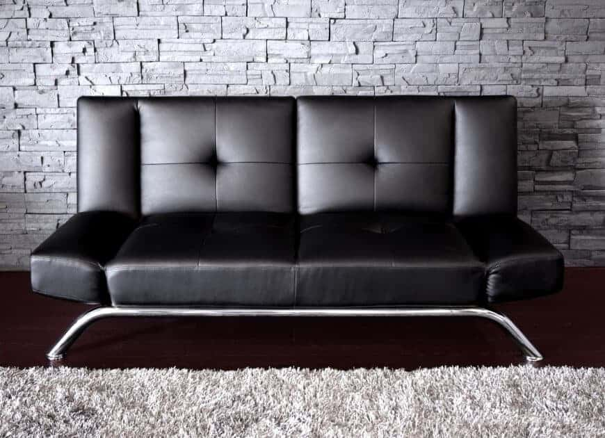 Photo of a small futon