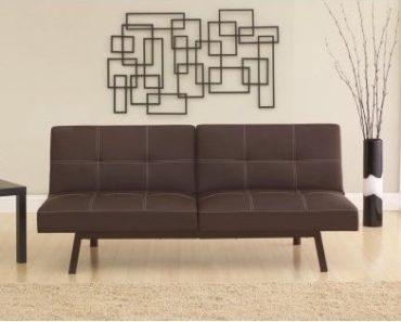 Small futon midcentury style.