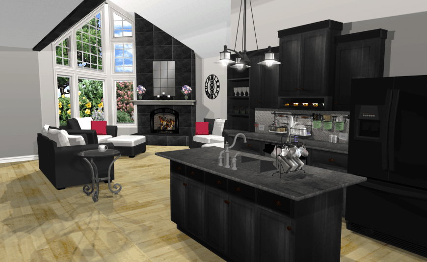 Virtual Kitchen Design With Punch Software