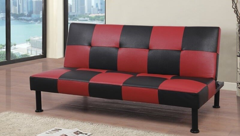 The Barner Convertible Sofa from Wayfair.