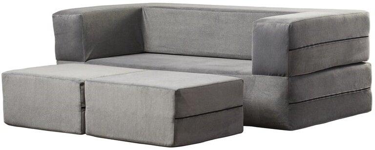 The Zipcode Design Eugene Square Arm Sofa from Wayfair.