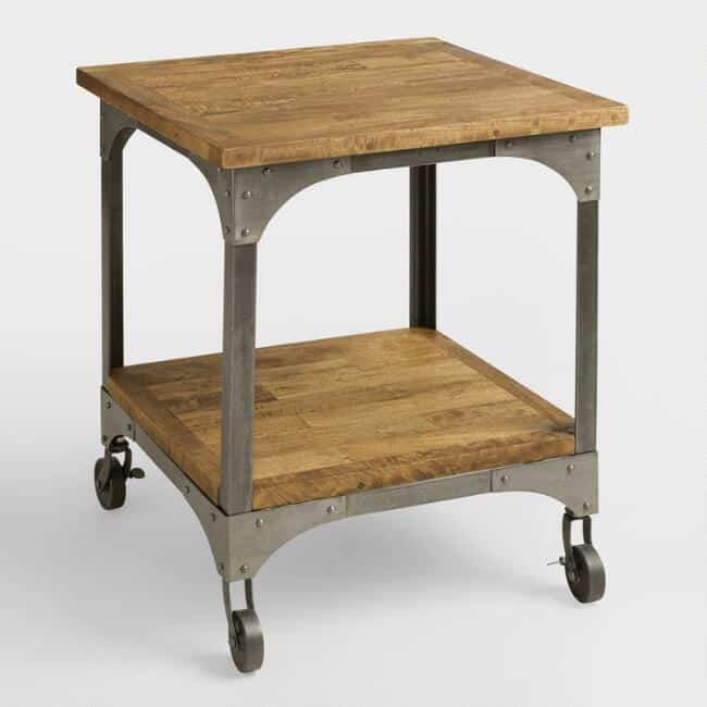 Types Of Tables For Your Home Buying Guide - World market industrial table