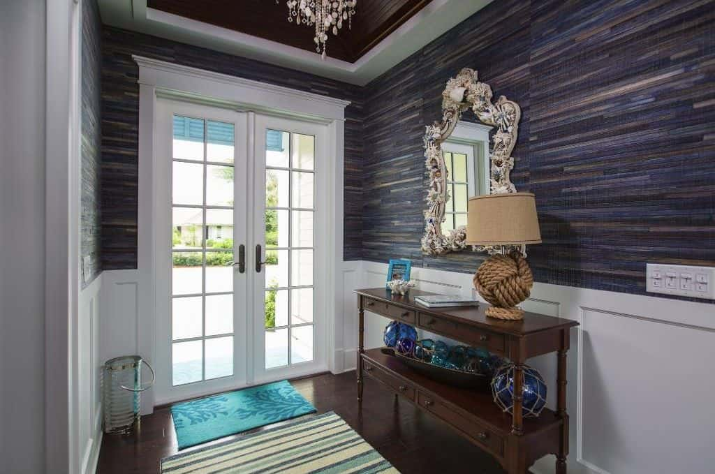 Traditional Foyer Wallpaper : Traditional foyer ideas for