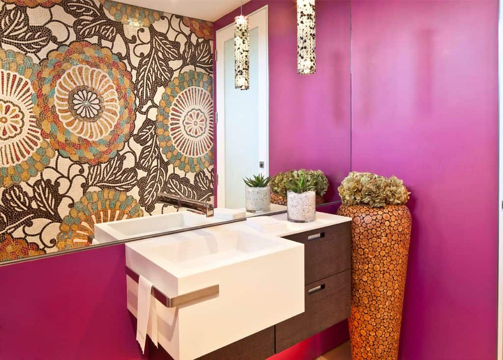 20 Pink Powder Room Ideas for 2018