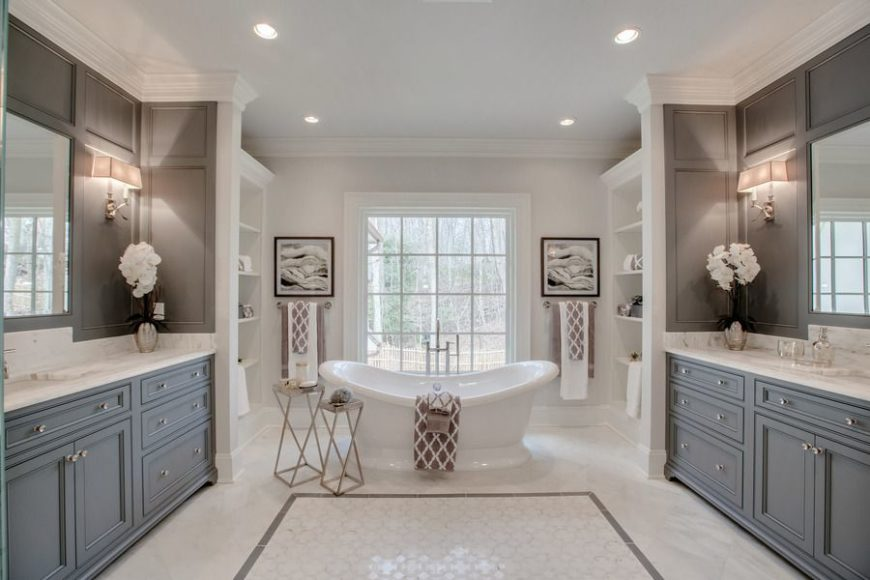 10 Modern Luxury Master Bathroom Ideas Youll Love Stephanie Kratz