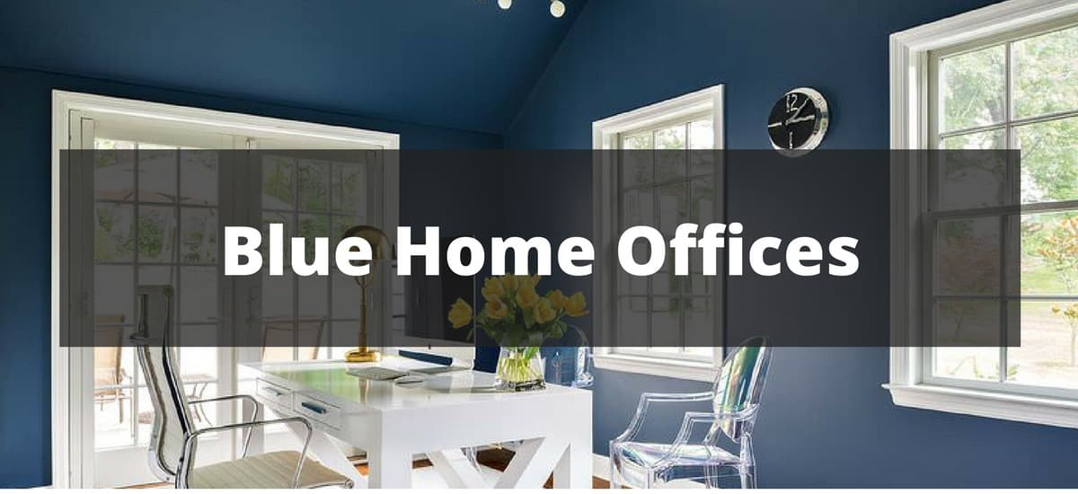 20 Blue Home Office Ideas for 2018