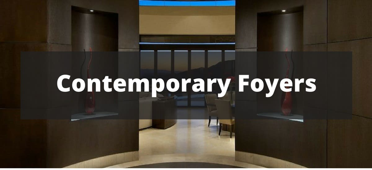 Modern Office Foyer Ideas Pintrest : Contemporary foyer ideas for