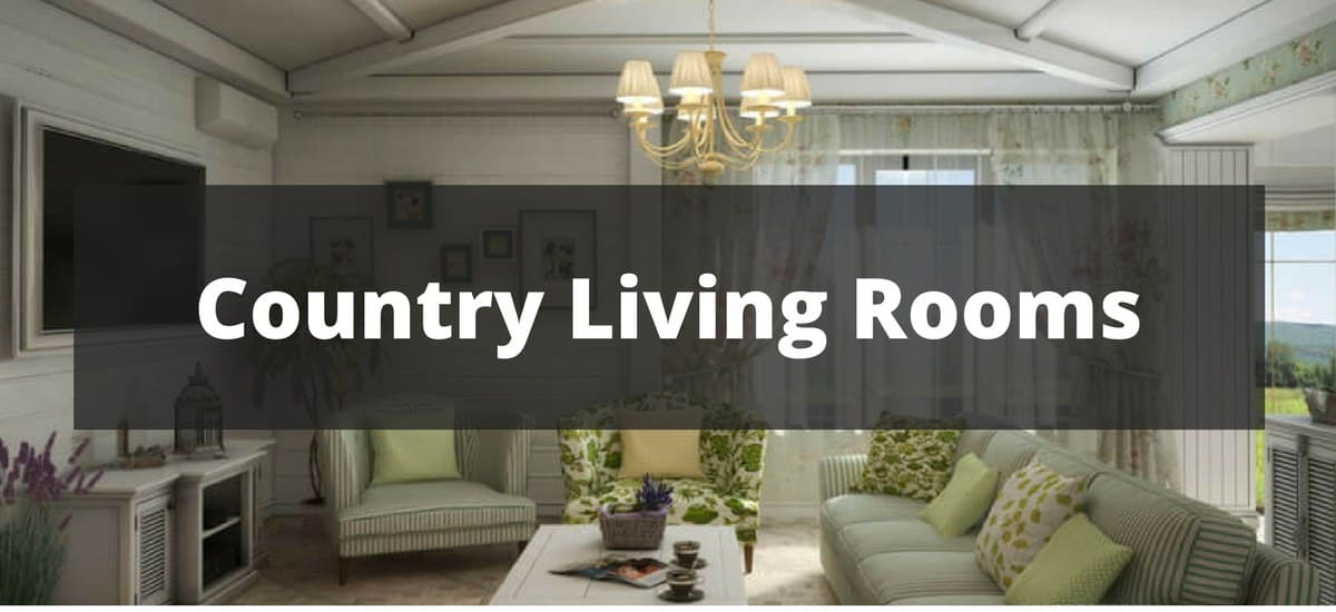 215 Country Style Living Room Ideas
