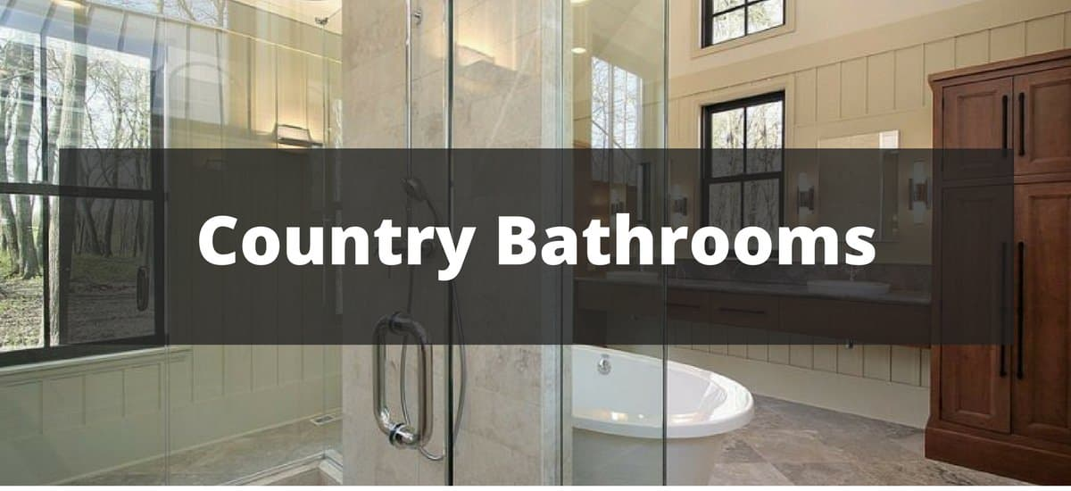 & 35 Country Style Bathroom Ideas for 2019