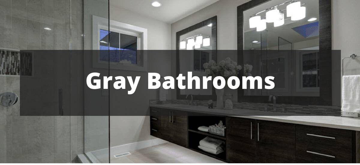 50 Gray Bathroom Ideas For 2019