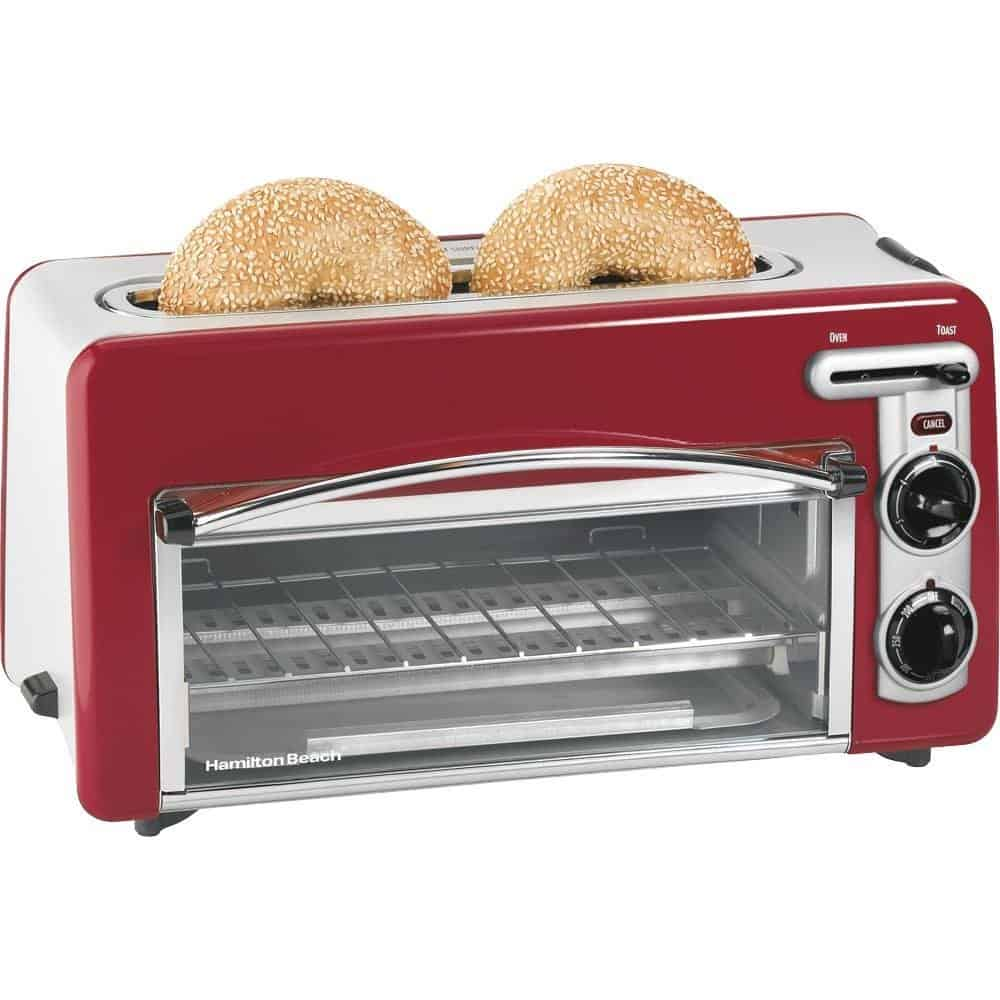 Compact toaster and oven model by Hamilton Beach
