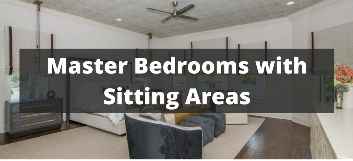 465 Master Bedrooms with a Sitting Areas (Sofa, Chairs, Chaise ...