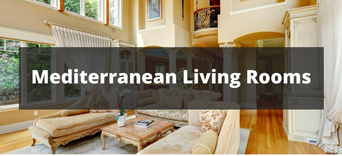 100 Mediterranean Living Room Ideas for 2018