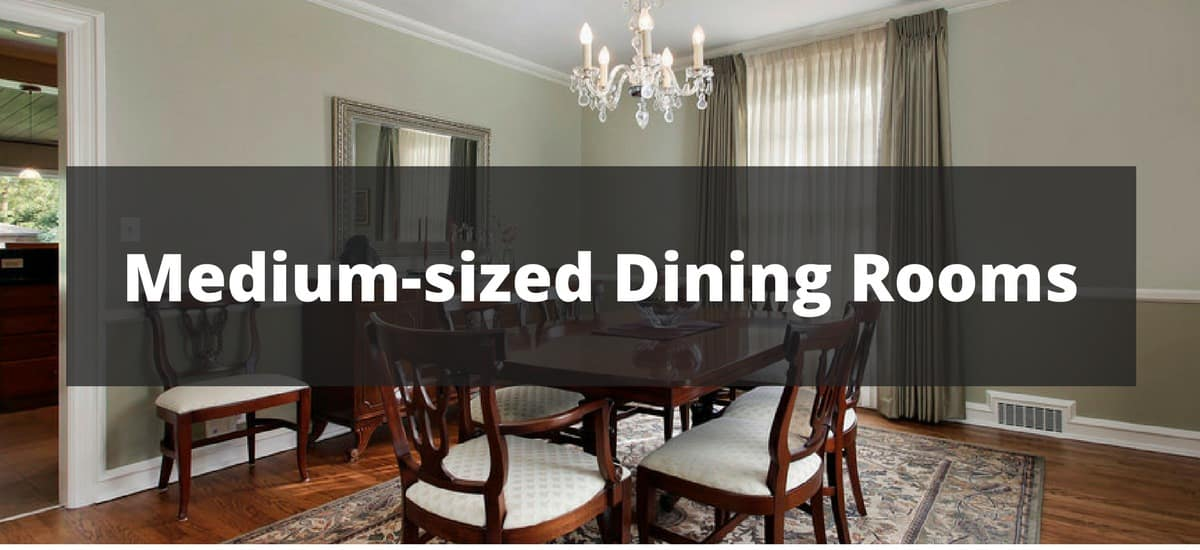 400 medium sized dining room ideas for 2018 for Medium dining room ideas