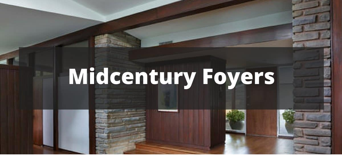 20 Midcentury Foyer Ideas For 2019