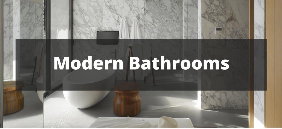 255 Modern Bathroom Ideas For 2019 - Modern-bathroom-ideas-4