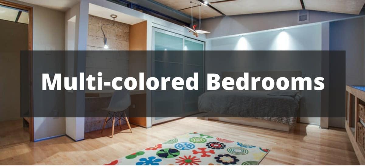 110 multi colored bedroom ideas for 2018
