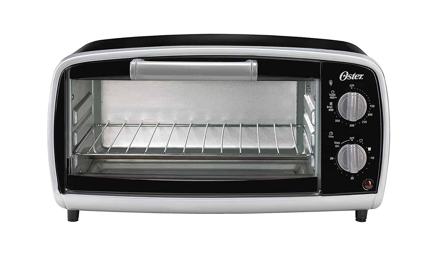 4-slice short toaster oven by Oster