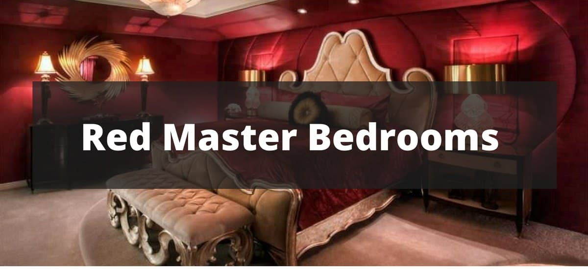 20 red master bedroom ideas for 2018
