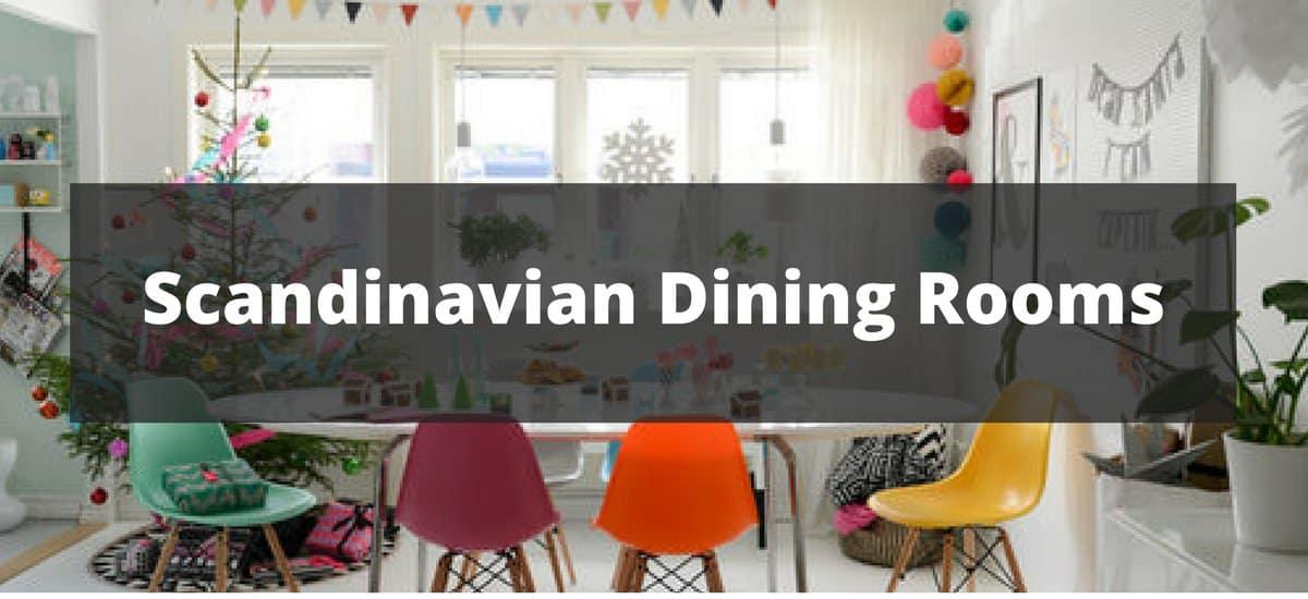 20 Scandinavian Dining Room Ideas for 2018