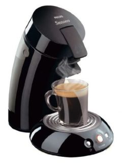 Small Senseo single cup coffee maker