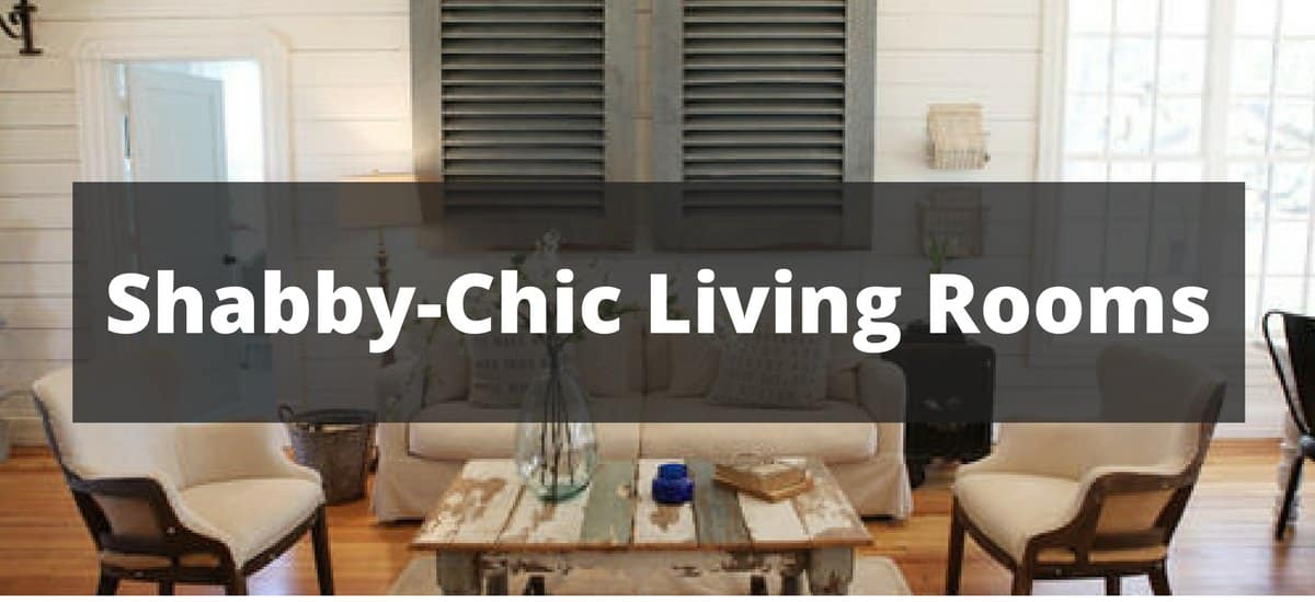20 Cool Shabby Chic Style Living Room Ideas For 2019