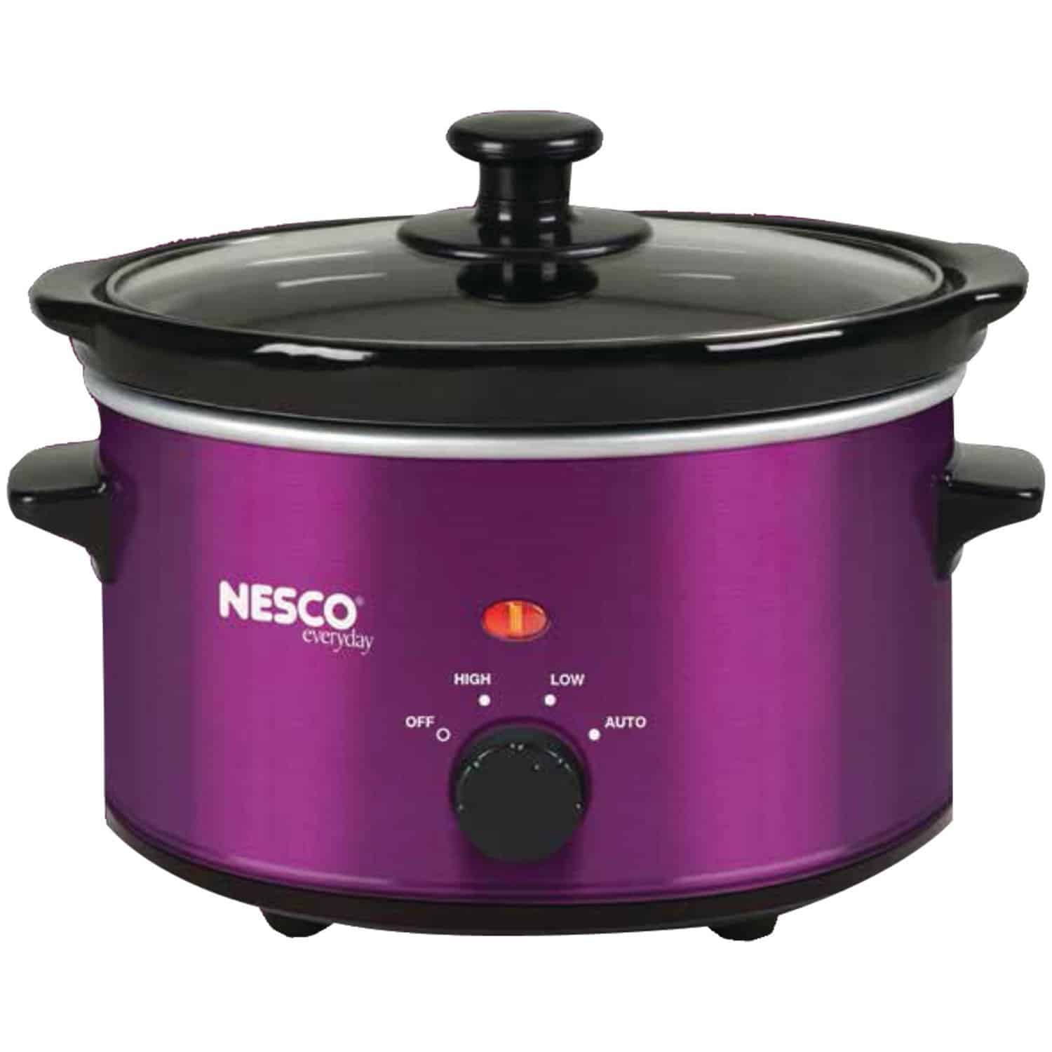 Violet small 1.5 quart slow cooker by Nesco