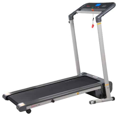 Sunny Health And Fitness Space Saving Folding Treadmill