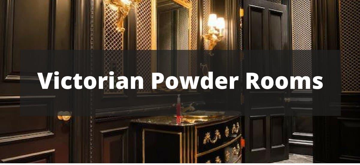 20 Victorian Powder Room Ideas for 2018