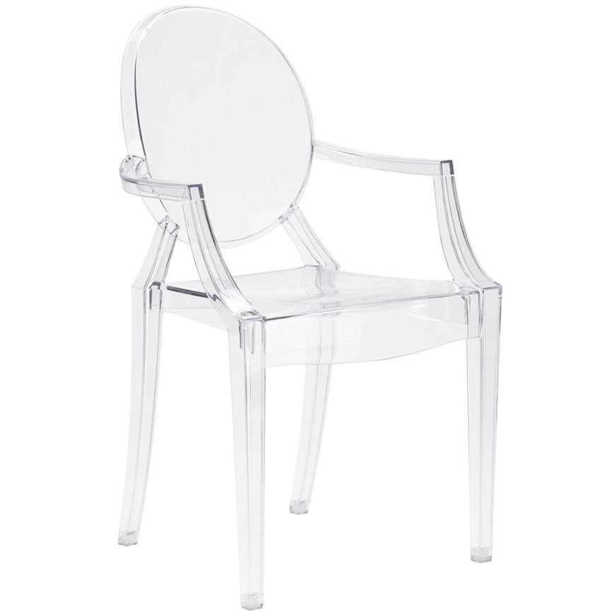 Clear and elegant looking ghost chair.