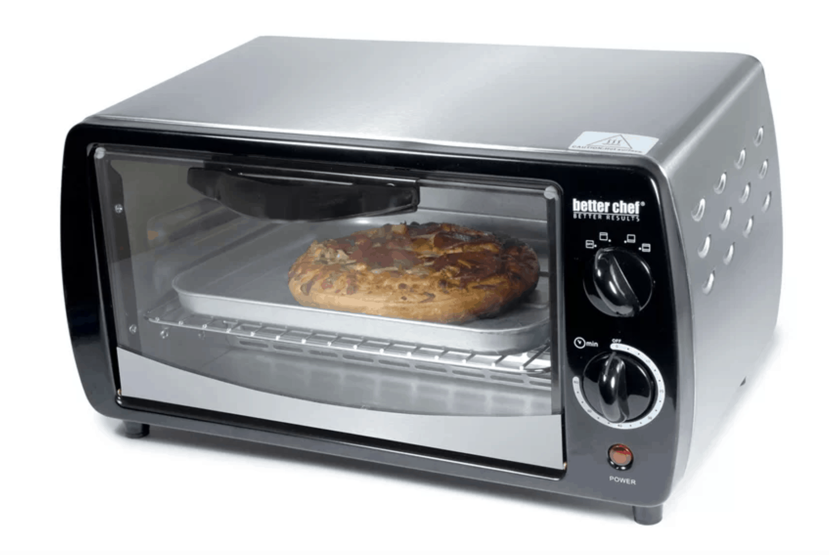 Compact toaster oven by better chef