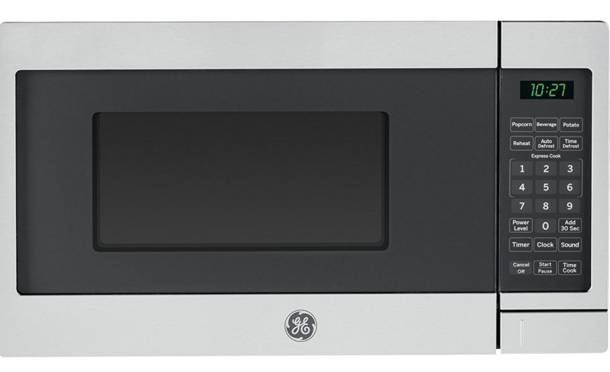 Compact express cook microwave by GE