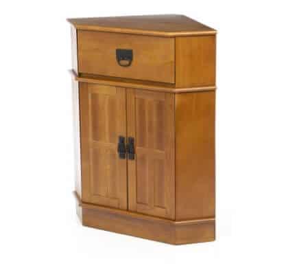 Exceptional Charlton Home Whitaker 2 Door Corner Cabinet
