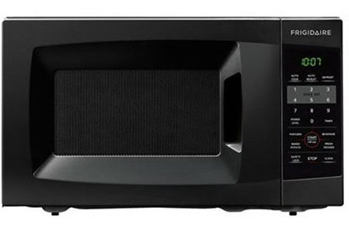 Dorm friendly microwave oven by Frigidaire