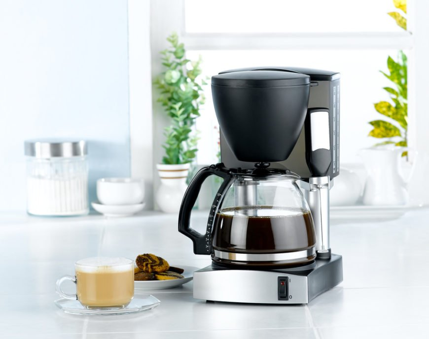 Automated drip coffee maker