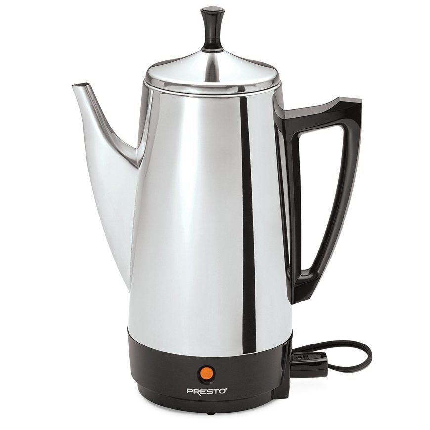Electric percolator coffee maker