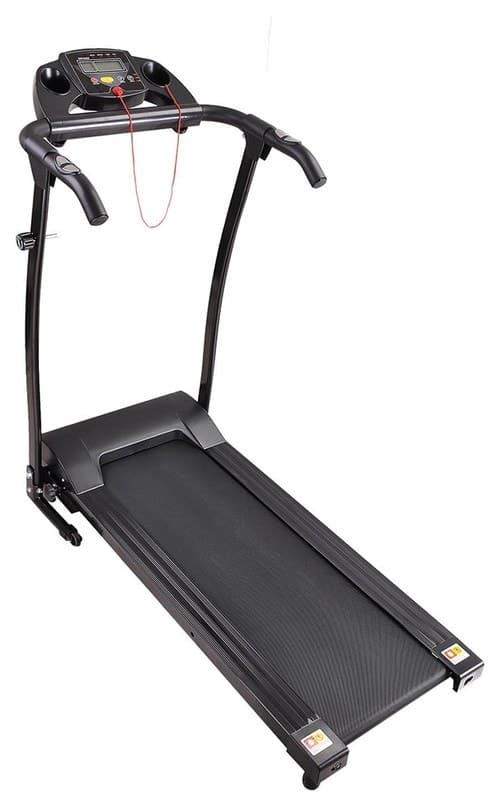 1100W Folding Electric Treadmill Motorized Machine Gym Fitness, Black