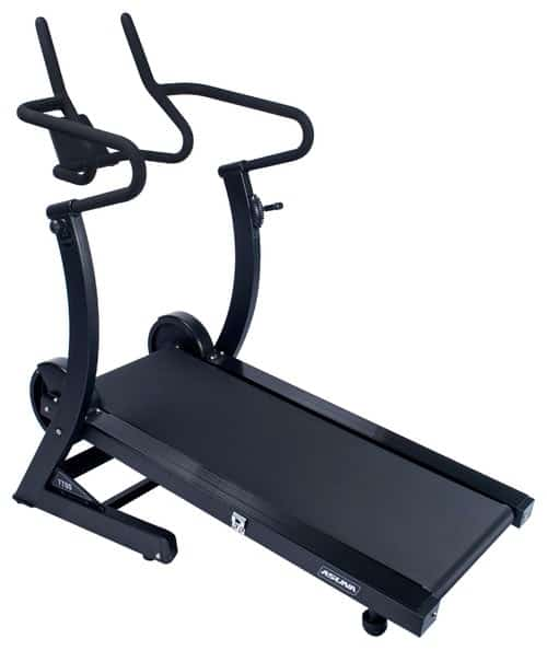Hi-Performance Cardio Trainer Manual Treadmill with Adjustable Incline