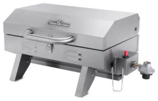 Portable stainless steel bbq grill with modern design