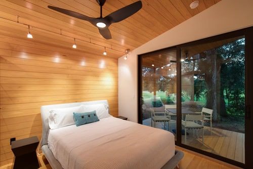 The Natural Patina Of Wood In This Master Bedroom Is Very Calming And  Offers A Refreshing Feel.