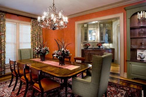 20 Orange Dining Room Ideas for 2018