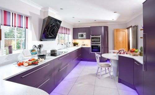 20 Purple Kitchen Ideas For 2019